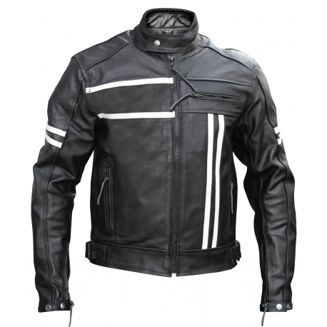 Ultimate Cafe racer - Stylish leather motorcycle retro jacket
