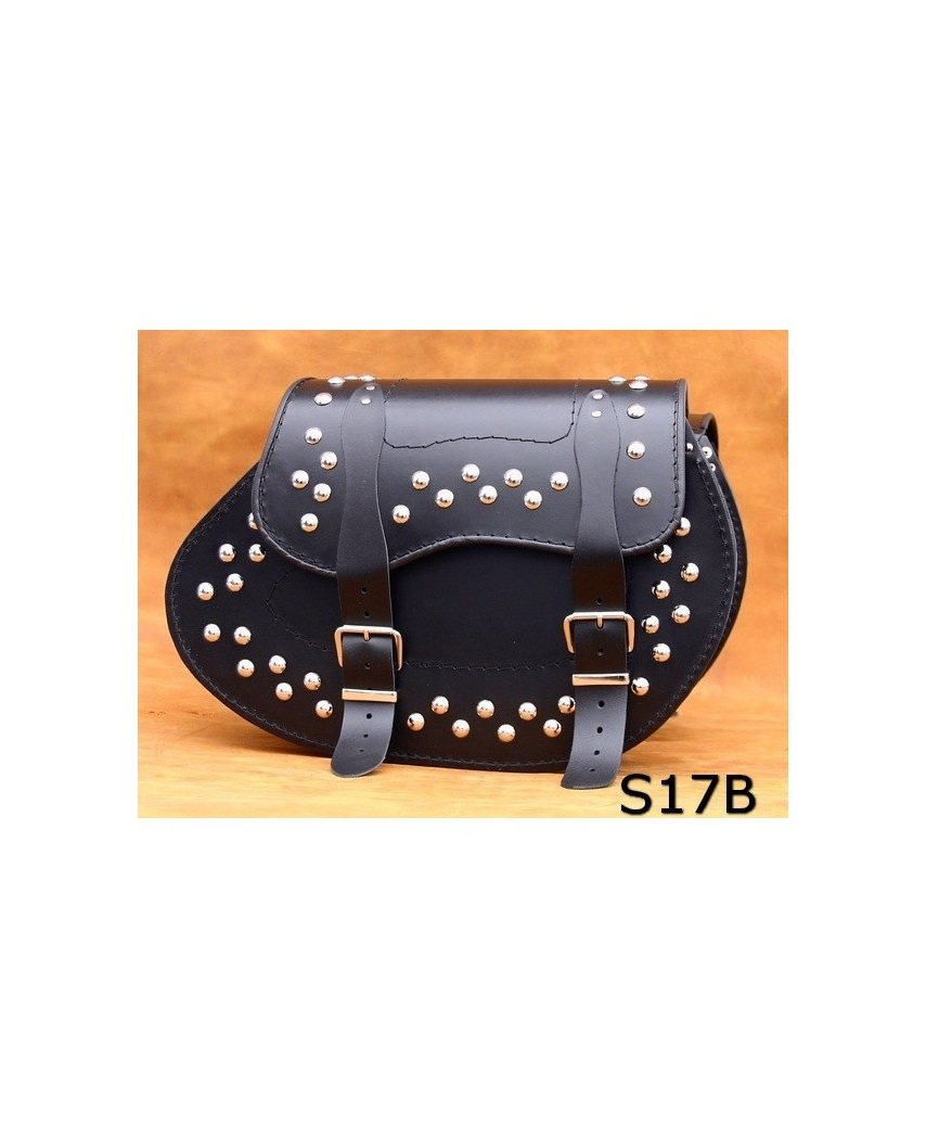 Saddle bags 116 in Plain/Rivets/Rivets+Fringes