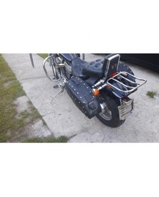 Suzuki VS 800 Intruder Rear heavy duty luggage rack for original sissy bar