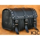 Rear Leather Moto Bag K3 A,B,C - 35 Litres