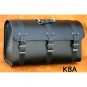 Rear Leather Moto Bag K8 A,B,C - 55 Litres