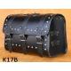 Rear Leather Moto Bag K14 A,B,C - 40 Litres