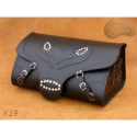 Rear Leather Moto Bag K19