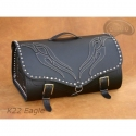 Rear Leather Moto Bag K22 - 39 Litres