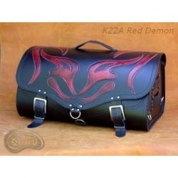 Rear Leather Moto Bag K22 Demon- 39 Litres