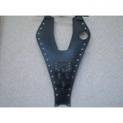 Honda VT750 Black Widow Leather Tank Belt