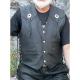 Bikers mode leather vest VP4