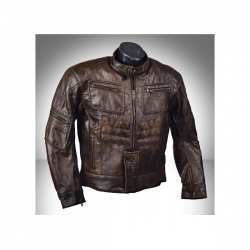Ultimate Streetfighter - Buffalo soft leather jacket