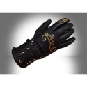 Ultimate Lady leather gloves gold