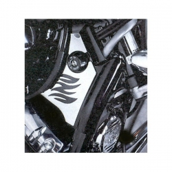 Yamaha XVS 650 1997 up Drag star chrome frame covers set