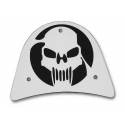 Sissy bar cover skull