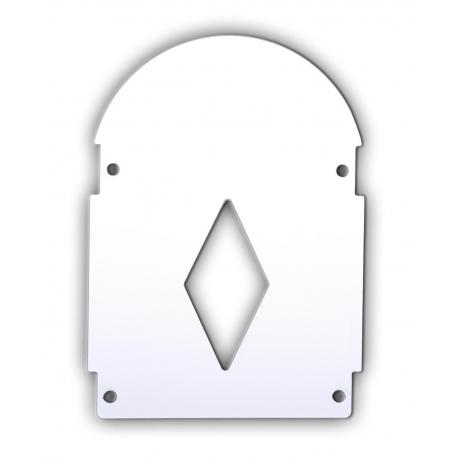 Sissy bar cover Chrome plate for sissy bars