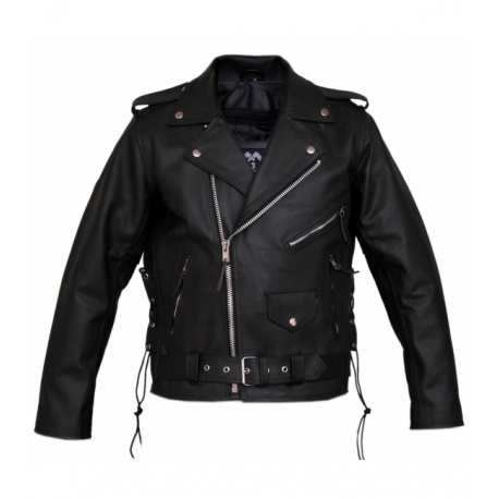 Perfecto brando black leather jacket