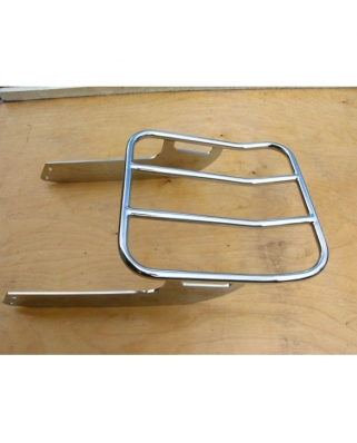 Yamaha XVS 1300 Midnight Star Rear heavy duty luggage rack for original sissy bar