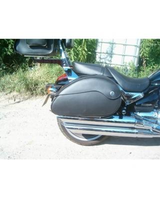 Leather saddlebags Nebrasca