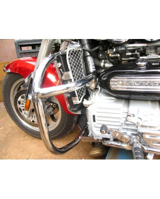 Triumph Rocket III and Classic Top line Heavy duty crash bar Ø 35mm
