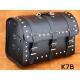 Rear Leather Moto Bag K7 A,B,C - 44 Litres