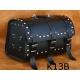Rear Leather Moto Bag K13 A,B,C - 29 Litres