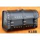 Rear Leather Moto Bag K18 A,B,C - 50 Litres