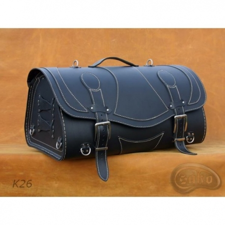 Rear Leather Moto Bag K26 - 39 Litres
