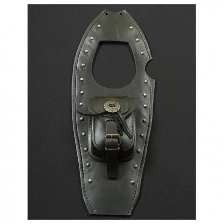 Suzuki 650 Savage Leather Tank Belt