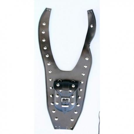 Yamaha XVS 650 Drag star Leather Tank Belt