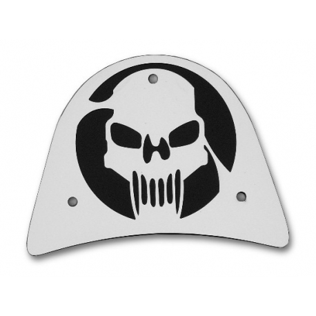Sissy bar cover skull